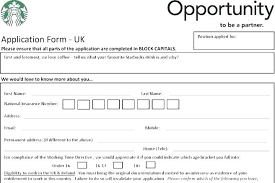 Free Downloadable Employment Application Forms Free Employment Application Template Download Job