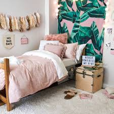 tropical pink bungalow room setup from dormify