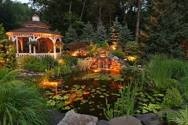 koi pond lighting ideas. Backyard Koi Pond Neave Group Outdoor Solutions Wappingers Falls, NY Lighting Ideas