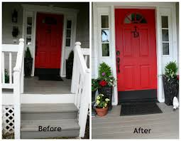 red front door white house. Entery Way Red Door Curb Appeal Front White House
