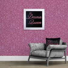 140cm wide pink glitter fabric wall covering