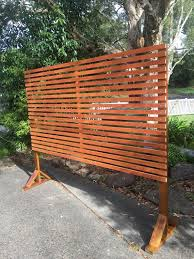 Free standing outdoor privacy screens Deck Freestanding Privacy Screen Divide An Area Create Privacy From Neighbours Or Use For Plants To Grow On Our Privacy Screen Is Modern And Can Be Pinterest Freestanding Privacy Screen Divide An Area Create Privacy From