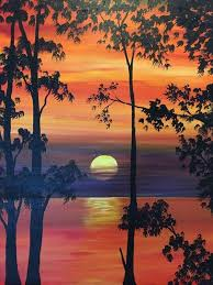 easy landscape painting ideas photos landscape painting ideas drawing art gallery