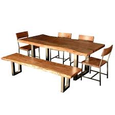 Rustic Round Dining Table Modern Room Decor  SurriPuinetModern Rustic Dining Furniture
