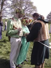 wiccan wedding. Handfasting Neopaganism Wikipedia