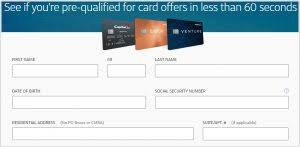 Essentially, you can prequalify for chase credit card options as a way to get a feel for your chances. How To Rapidly Prequalify For A Capital One Credit Card