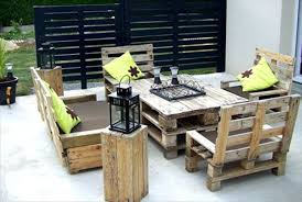 pallet furniture table. Best Pallet Patio Furniture For Your Home Table B
