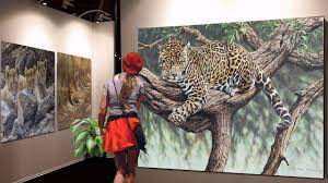 ALAN HUNT WILDLIFE ARTIST. - YouTube