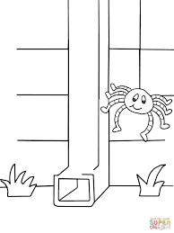 Small Picture Itsy Bitsy Spider Coloring Free Printable Coloring Pages Itsy