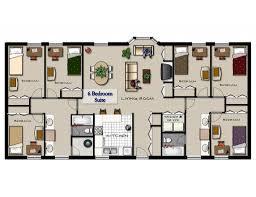 Bedroom Apartment Floor Plans Nice 4 Bedroom Luxury Apartment Floor Plans