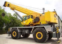 Grove 130 Ton Crane Load Chart Grove Rt9130e 130 Ton Rough Terrain Crane For Sale