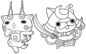 Btw i have already compleated yo kai watch 2 i am just doing a challenge in witch ( pun intended ) i have to beat yo kai watch 1,2,and 3 without playing anything else and right now im at yo kai watch 3 ch.7 and i have only s ranks!!! Shogunyan And Komasan Yo Kai Watch Coloring Page Coloring Pages Apple Coloring Pages Coloring Pages For Kids