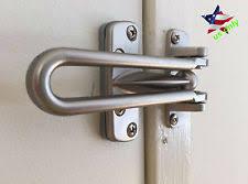 Door chain lock Strong Home Guard Safety Lock Satin Nickel Swing Bar Entry Door Chain Protection Ebay Door Chain Lock Ebay