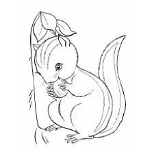 Small Picture 10 Cute Chipmunk Coloring Pages Your Toddler Will Love To Color