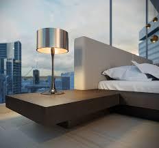 arata platform bed shelf