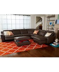 Living Room Collection Furniture Julius Leather Power Motion Sectional Living Room Furniture
