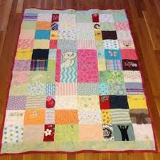 Custom Quilts | Personalized Quilts | CustomMade.com & Custom Embroidered Patchwork Baby Clothing Quilt by Amanda Witherspoon Adamdwight.com