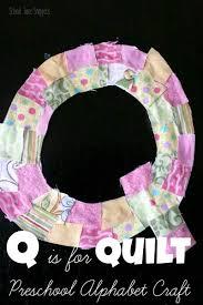 Q is for Quilt Preschool Alphabet Craft   School Time Snippets & preschool alphabet craft- letter q for quilt Adamdwight.com