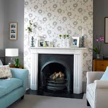 how to wallpaper furniture. How To Wallpaper A Chimney Breast Furniture