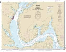 Potomac River Charts 12288 Potomac River Lower Cedar Point To Mattawoman Creek Nautical Chart