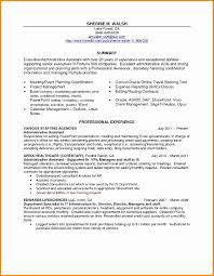 Resume Templates For Administrative Assistants Free â 30