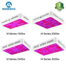 Morsen Led Grow Light Details About Morsen Led Grow Light M 1000w 3000w Full Spectrum Hydroponic Indoor Plant Lamps
