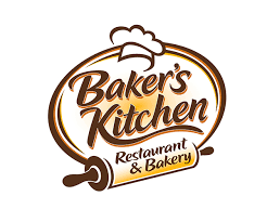 Bakers Kitchen Restaurant And Bakery Logo Business Tools Bakery