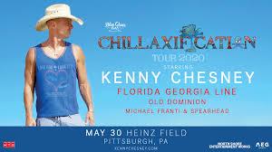 Kenny Chesney Chillaxification Tour Heinz Field In