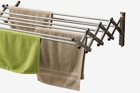 aero w stainless steel folding clothes rack