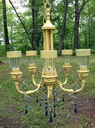 solar chandelier outdoor