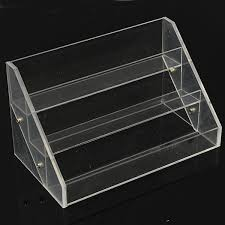Acrylic Tiered Display Stands 100 Tiers Acrylic Nail Polish Display Stand Cosmetic Container 2