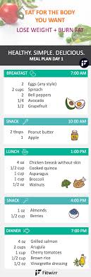 Healthy Meal Chart To Lose Weight Pin On Bariatric Surgery Tips