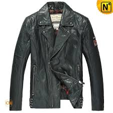 distressed leather motorcycle jacket cw850124 cwmalls com