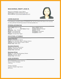 21 Federal Resume Format Professional Template Application Resume