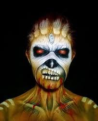 creepy makeup by nikki sey26 700