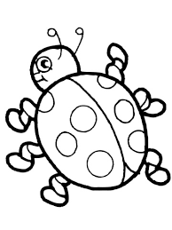 Lady Bug Coloring Sheet Cute Ladybug Coloring Page Free Printable Coloring Pages