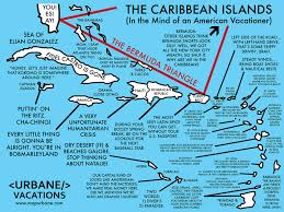 the caribbean a traveler's cultural guide map – urbane map store