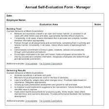 Performance Appraisal Sample Form Yearly Employee Review Template Annual Performance Appraisal