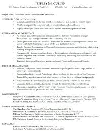 Gallery Of Sample Resume College