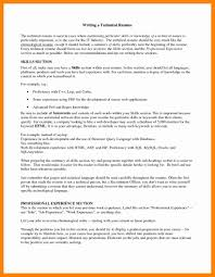 7 Resume Technical Skills Examples Letter Signature