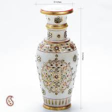 Small Picture Decorative vases online Marble flower vase shopping India