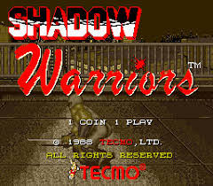 Shadow warriors (Mame)