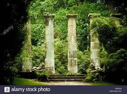 garden columns. Stone Columns, Harlow Carr Gardens, Harrogate Garden Columns O