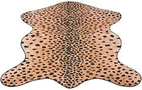 <b>Shaped Rug 150x220</b> cm Cheetah Print Home & Garden Decor ...