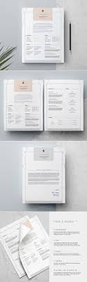 4 Page Resume Template | Rhian @creativework247 | Resume Samples ...