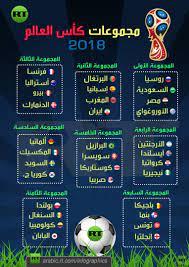 RT Arabic - نتائج قرعة مونديال روسيا 2018 (تحميل/طباعة)