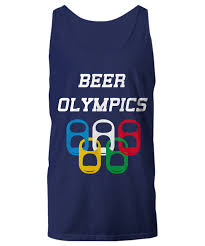 16 95 beer olympics drinking game sport tank top usa