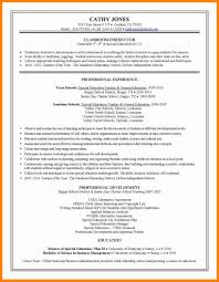 Special Education Teacher Resume 100 Special Education Teacher Resume How To Make A Cv 40
