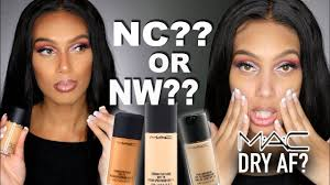 Testing Mac Foundations Whats My Shade Mspreciousmarie Review Video
