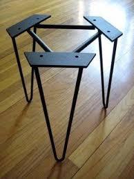 diy metal furniture. Hairpin Legs   Metal Table Stainless Steel Custom Furniture Diy L